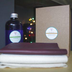 Castor oil + packs